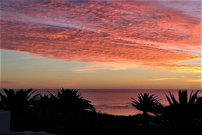 Lanzarote-Sonnenuntergang