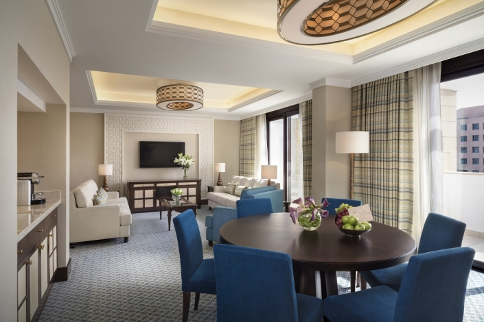 Al Najada Duplex Suite Living Dining Room