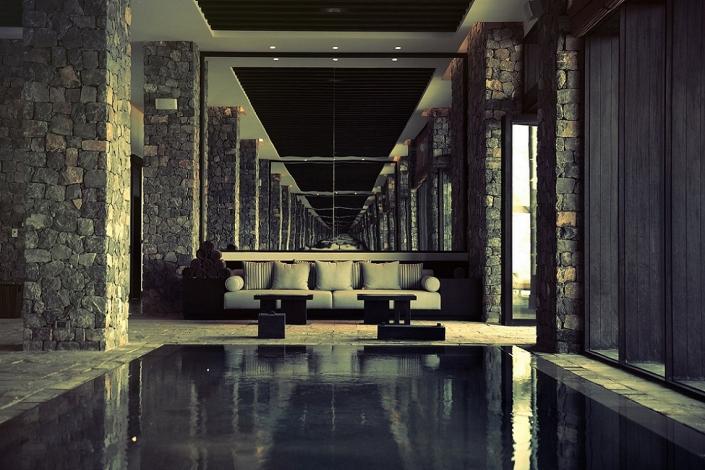 Alila Jabal Akhdar Facilities Indoor Pool