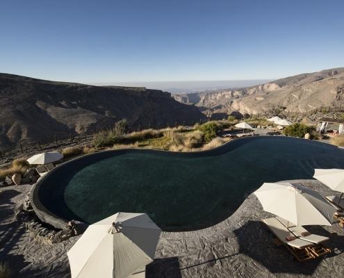 Alila Jabal Akhdar Infinity Pool