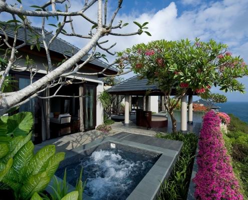 Banyan Tree Ungasan Guestroom Sanctuary Villa Exterior