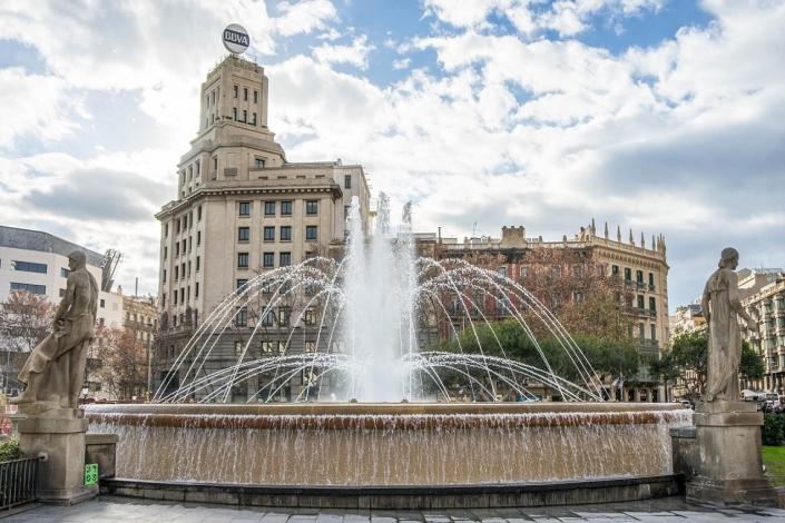 Barcelona Catalonia Brunnen