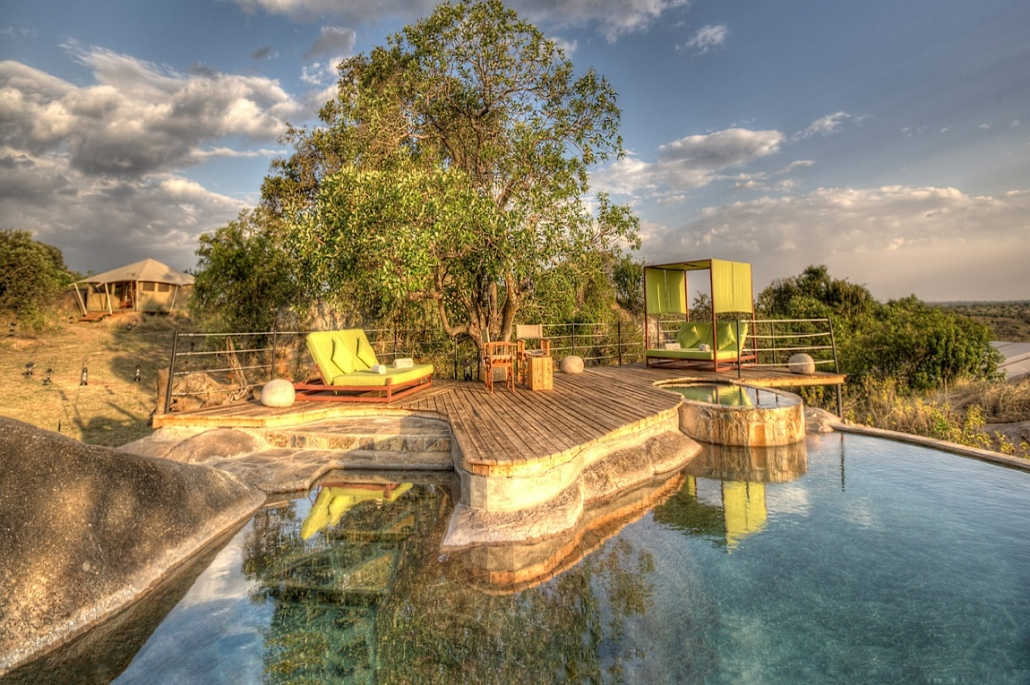 Luxushotels Serengeti Bushtops Tansania Reisegalerie|