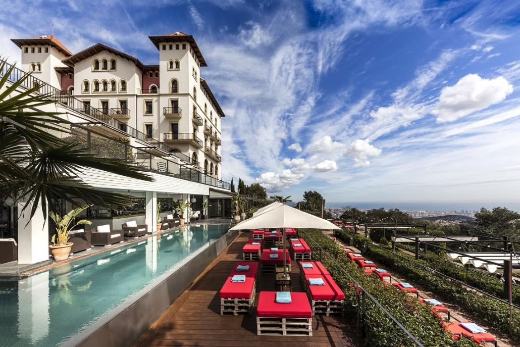 Gran Hotel La Florida Fachada