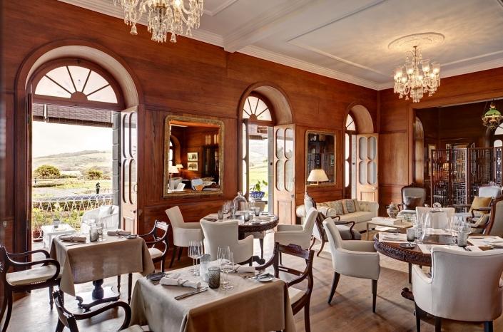 Heritage Le Telfair Chateau de bel Ombre Restaurant