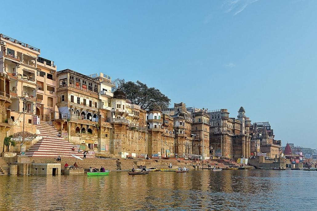 Indien Varanasi Ghat