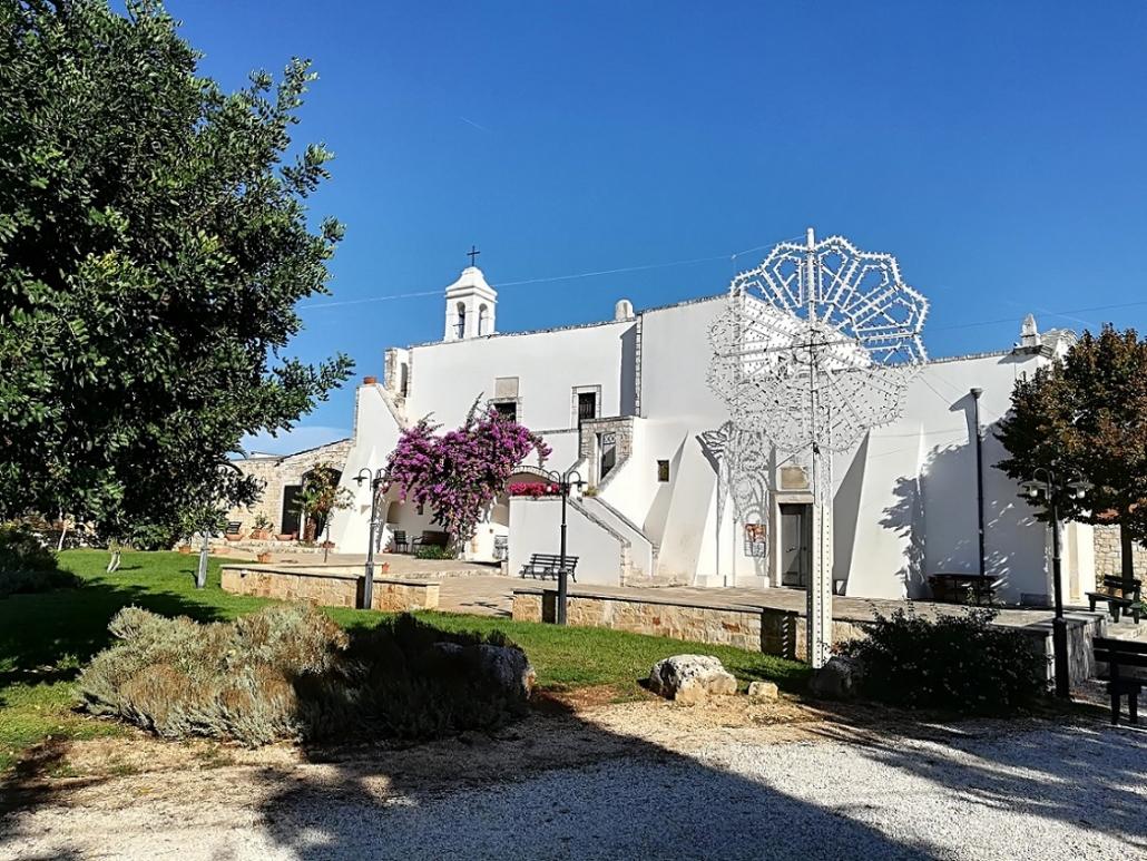 Italien-Apulien-Kirche