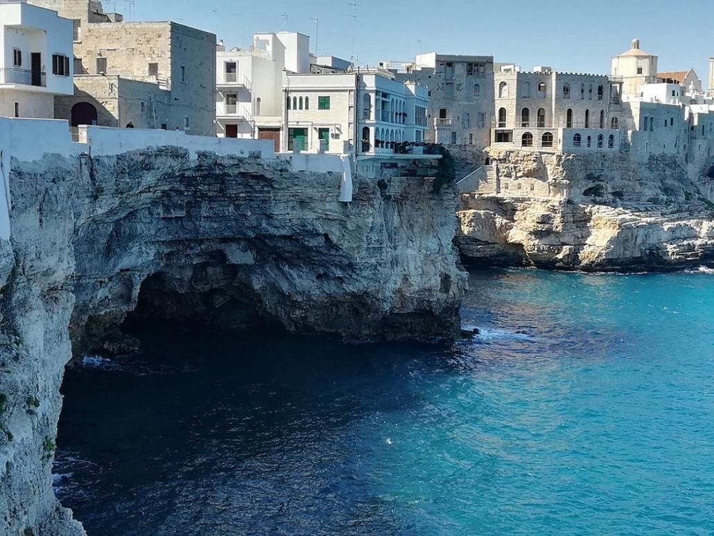 Italien-Apulien-Polignano-a-Mare