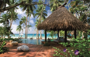 Laucala Island Seagraa Villa Tropical Outdoor Area