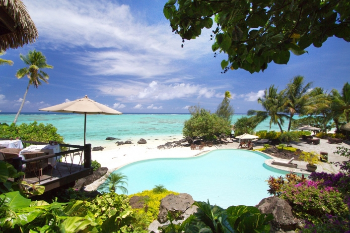 Pacific Resort Aitutaki Elevated Poolside