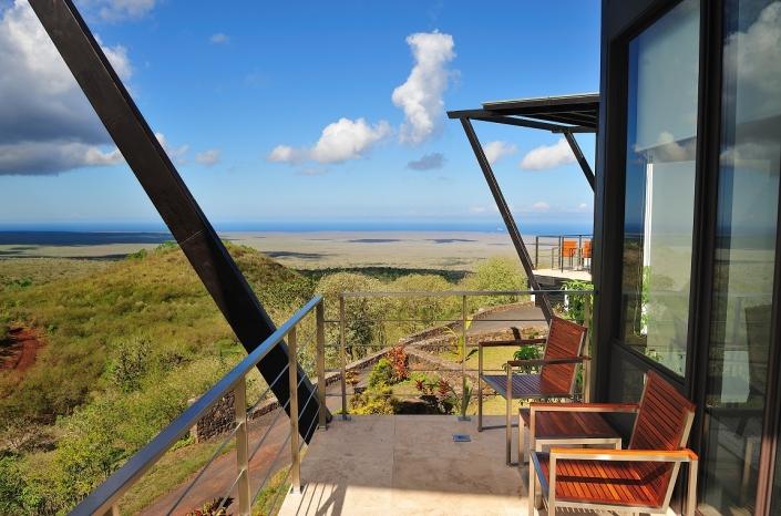 Pikaia Lodge Balcony Room View