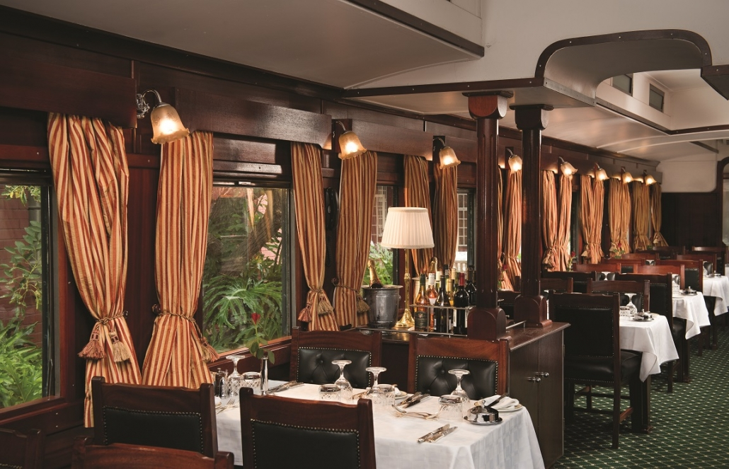 Rovos Rail Events Dining