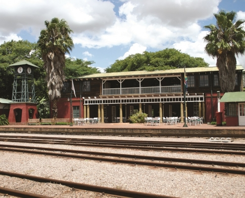 Rovos Rail Station Building