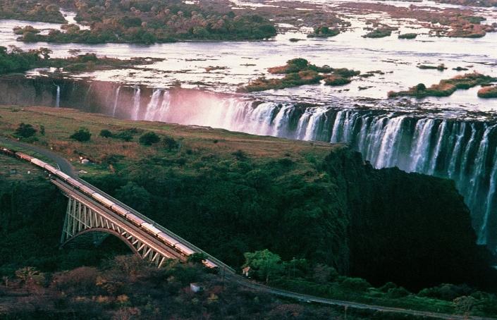 Rovos Rail Victoria Falls Bridge