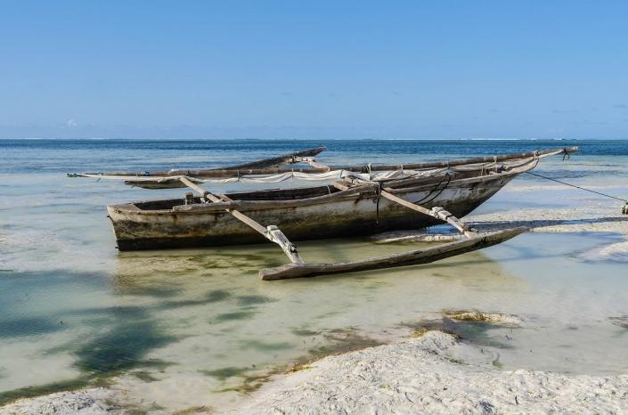 Sansibar Fishing Boat