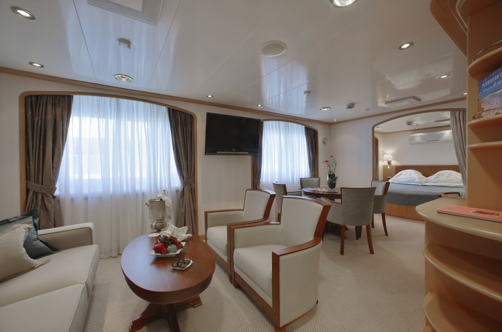 SeaDream Admiral Suite