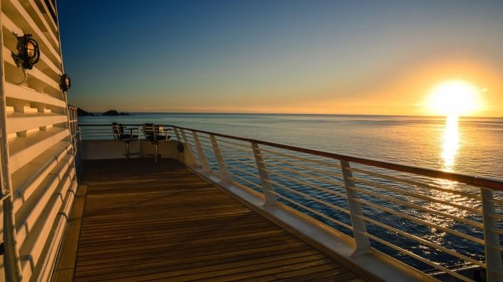 SeaDream Sonnenuntergang