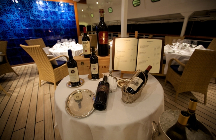 SeaDream Wein Dining on Deck
