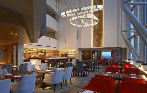 Shangri-La Horizon Club lounge