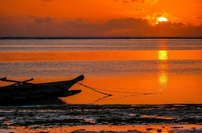 Tansania Sonnenaufgang