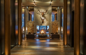 The Chedi Entrance