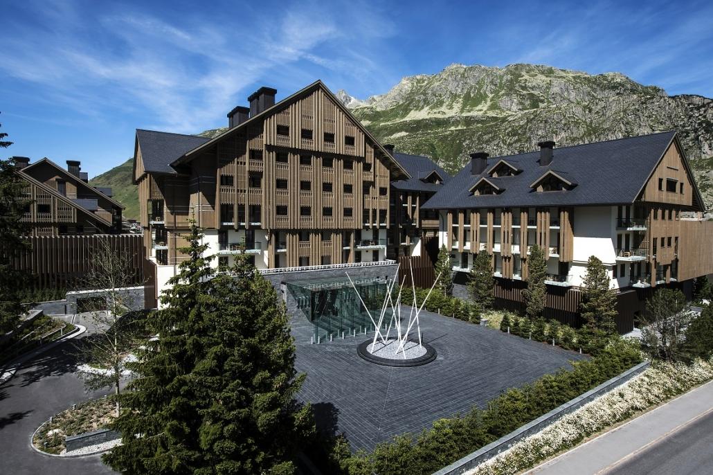 Luxushotels The Chedi Andermatt Schweiz Reisegalerie|