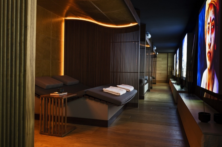 The Chedi Spa Lounge