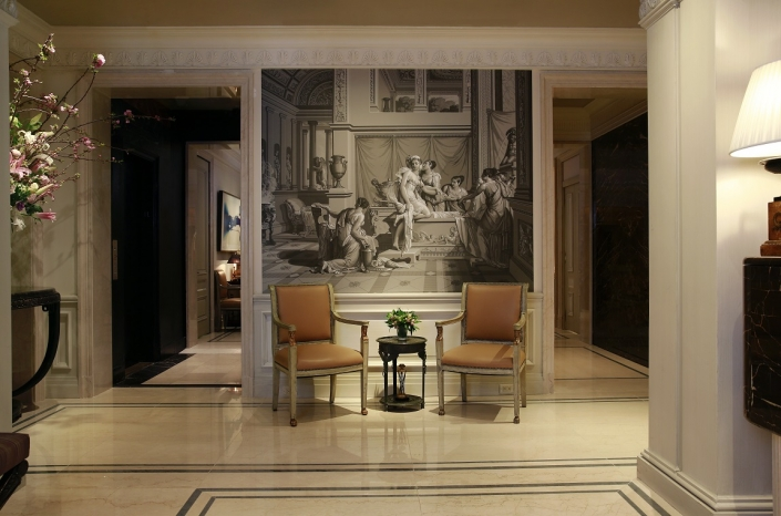 The Lowell Lobby of the Lowell Hotel