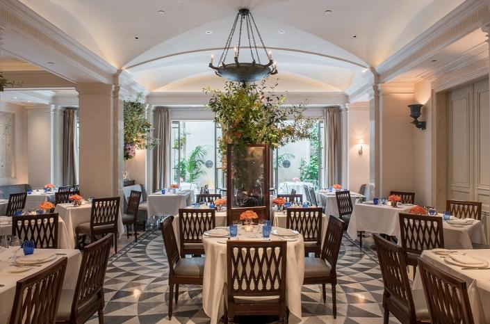 The Lowell Restaurant Majorelle