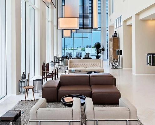 The Oberio Lobby