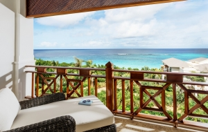Zemi Beach House Guest Room Balcony View