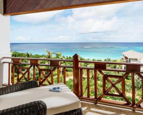 Zemi Beach House Guest Room Balcony View