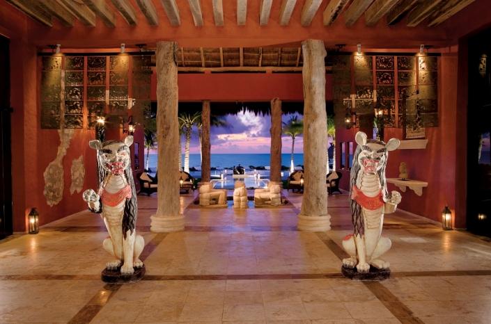 Luxushotels Zoetry Paraiso Puerto Morelos Mexiko Reisegalerie|
