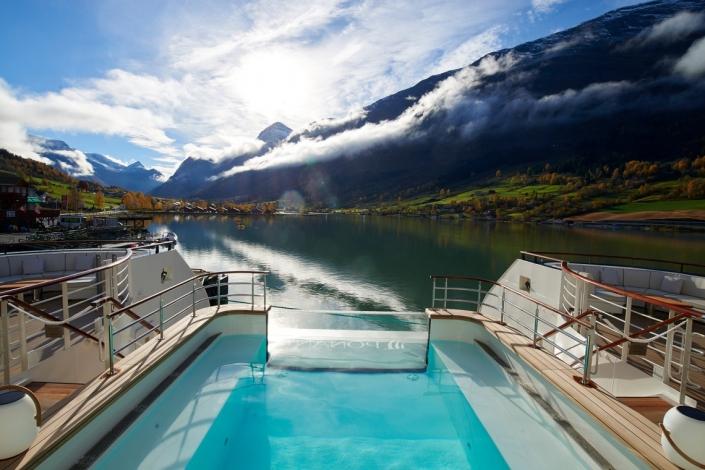 Ponant Le Champlain Pool