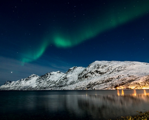 Norwegen Polarlichter