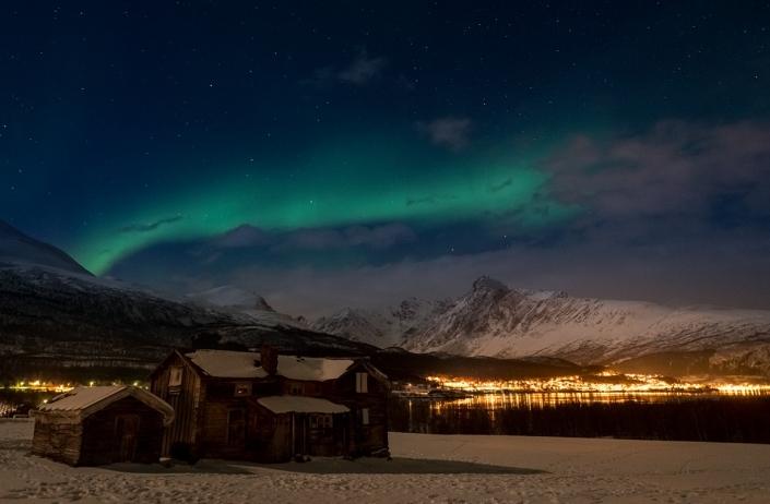 Polarlichter Troemse