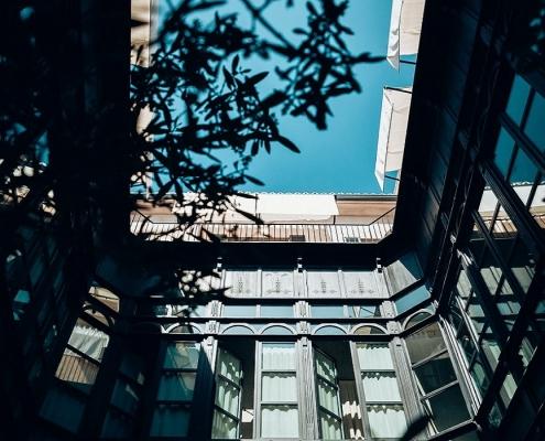 Sant Francesc Hotel Singular Patio