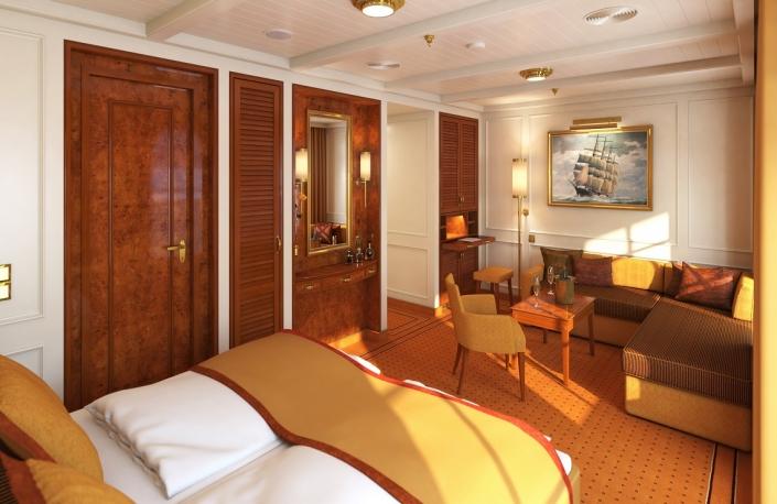 SeaCloud Spirit Owner Suite