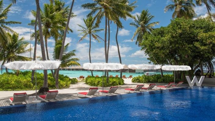 W Maldives Wet Deck