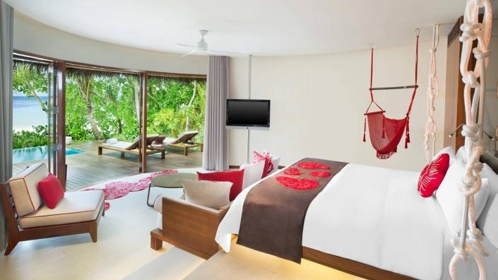 W Maledivs Wonderful Room