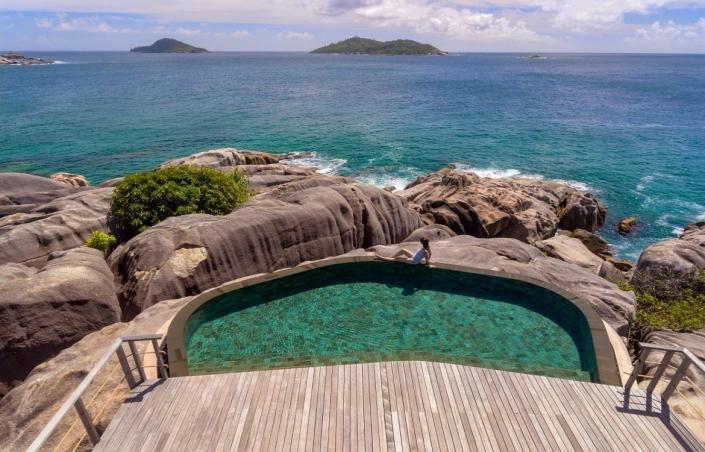 Luxushotels Six Senses Seychellen Reisegalerie|