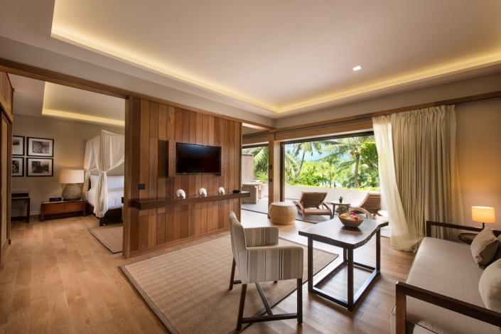 Luxushotels Condrad Bora Bora Nui Französisch Polynesien Reisegalerie|