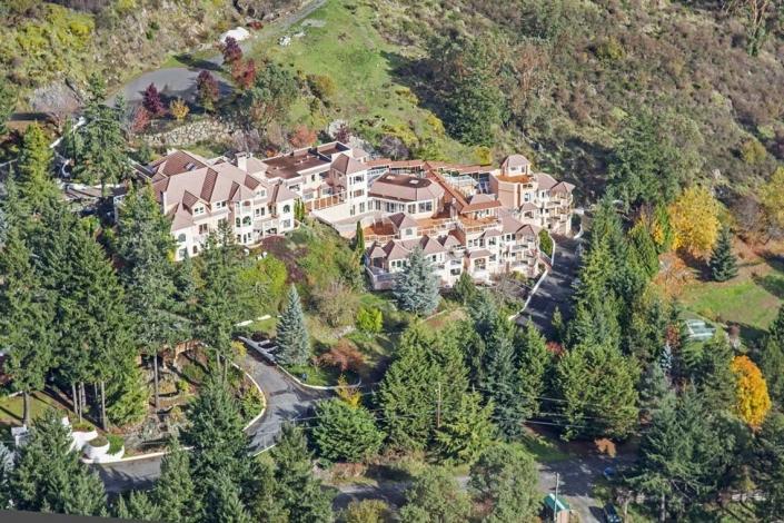 Luxushotel Villa Eyrie Resort Malahat Kanada Reisegalerie|