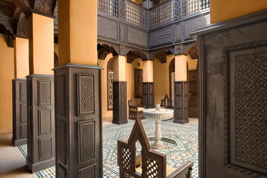 Luxushotels La Sultana Marrakech Marokko Reisegalerie|